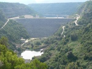 Diga di Preda'e Othoni (sul fiume Cedrino)